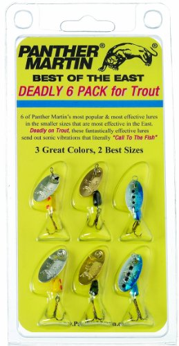 (Panther Martin Best of The East Spinner Fishing Lure Kit)