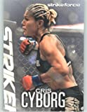 2012 Topps UFC Knockout / Ultimate Fighting Championship Card #53 Cris Cyborg - Mixed Martial Arts (MMA Trading Card)
