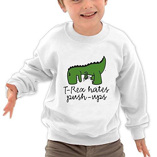 Seven Seas Floor Mirror (Honxjsnz T-Rex Hates Push-UPS Toddler Girls&Boys Lovely Warm Round Neck Sweatshirt 4 Toddler White)