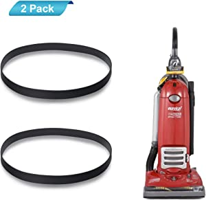 LANMU Replacement Belts for Eureka 4870 Series Ultra Smart Vac Upright Vacuums, Style R Belt Fit Models 4870, 4872, 4874, 4880, 4885, Replace Part No. 61110 (2 Pack)