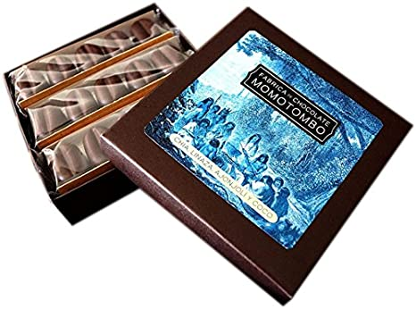 Momotombo-Caja de Bombones de Chocolate Negro-Chia,Lino ...