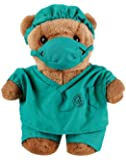"""Prestige Medical 10""""; Doctor Scrub Bear"""