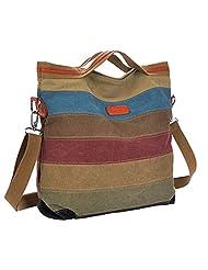 Partiss Womens Canvas Cross-shoulder Bags