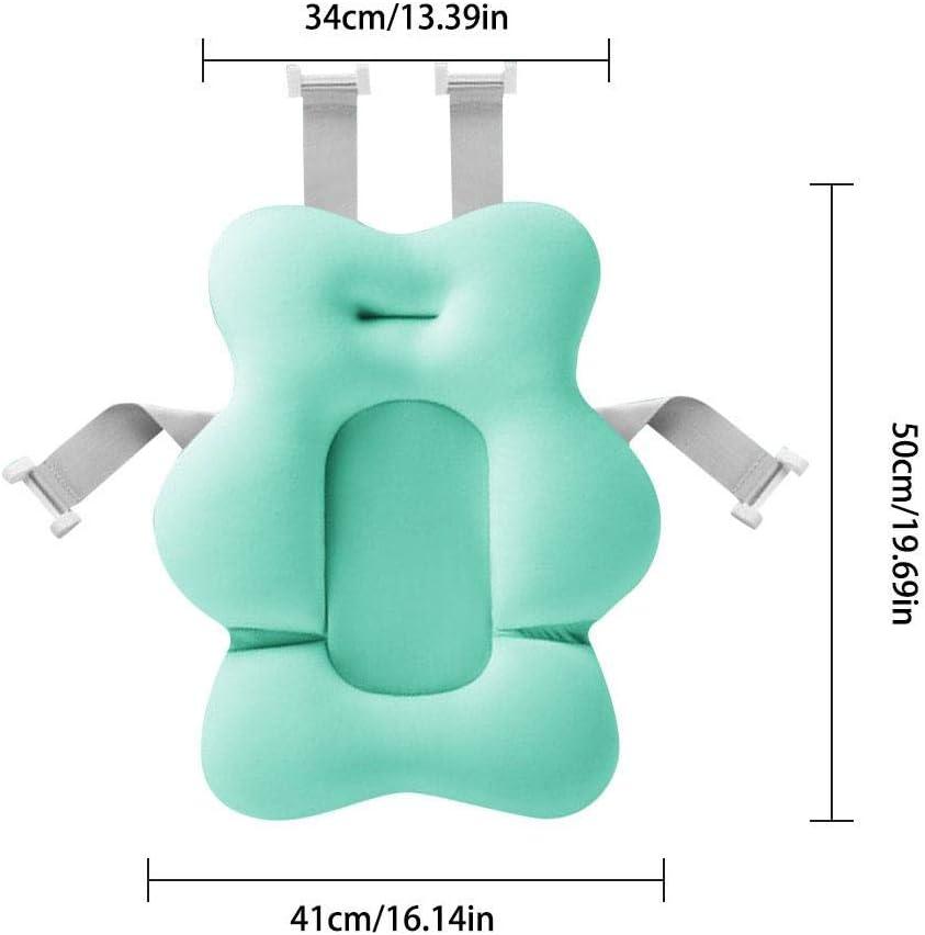 Badezimmer Sicherheits Sitzauflage Badeanzug Stoff strety Baby Badekissen Mesh 100 Baby Badespa/ß Neugeborenes Baby Anti-Rutsch Badekissen 0-6 Monate Jungen M/ädchen Unisex
