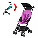 GB Pockit PLUS Stroller 2017 / multi-adjustable backrest / Light Traveler / from 6 Mo.-4Y. Posh Pink
