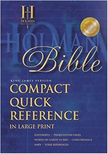 The Broadman & Holman Compact Quick Reference Bible: KJV With Zipper
