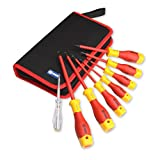BOOHER 0200204 8-Piece 1000V Insulated Screwdriver Set