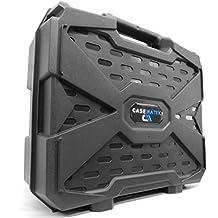 WORKFORCE Safe n Secure Video Projector Hard Case with Dense Internal Foam - For Epson 3LCD, XGA, SVGA and 3D Projectors - Models VS240 / EX3240 / VS345 / VS340 / VS335W / EX7240 Pro / EX5240 Pro