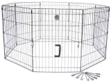 Cheap Go Pet Club 36-Inch High Wire Play Pen 8-Panels