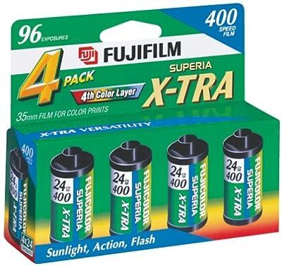 Fujifilm 1014258 Superia 35mm Film - 4 Pack from FUJIFILM