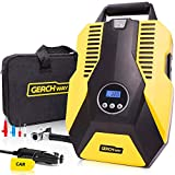 Best Auto Tire Inflators - Portable Car Tire Pump Digital Air Compressor Tire Review