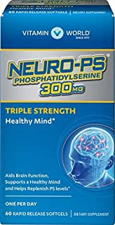 Vitamin World Neuro-PS 300mg Triple Strength, 60 Softgels