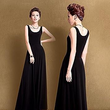 XIU*RONG Primavera Y El Verano De Vestir Una Falda Correa Negra ...