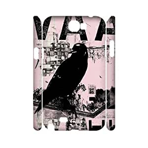 Bird Personalized 3D Cover Case for Samsung Galaxy Note 2 N7100,customized phone case ygtg567593