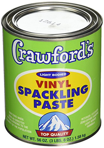 CRAWFORD PRODUCTS COMPANY, INC. 31904 Quart Spackling Paste ()