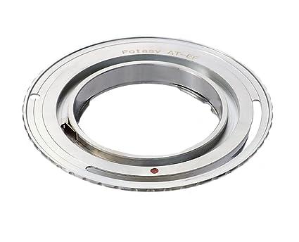 Fotasy Auto Topcon Lens to Canon APS-C DSLR Adapter, fits Canon EOS 7D Mark  II 7D 80D 70D 60D 50D 40D 30D 1300D 1200D 1100D 1000D 760D 750D 700D 650D