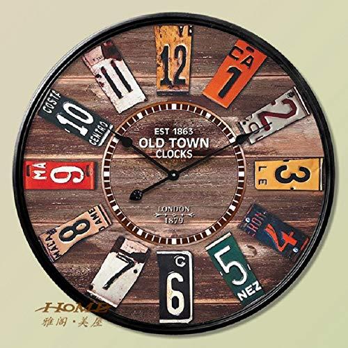 Amazon.com: 60CM Wall Clock Saat Clock Reloj Duvar Saati Horloge ...