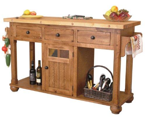 Sedona Kitchen Island Table -  Sunny Designs, 2522RO