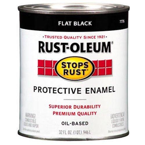 rust-oleum-7776502-protective-enamel-paint-stops-rust-32-ounce-flat-black