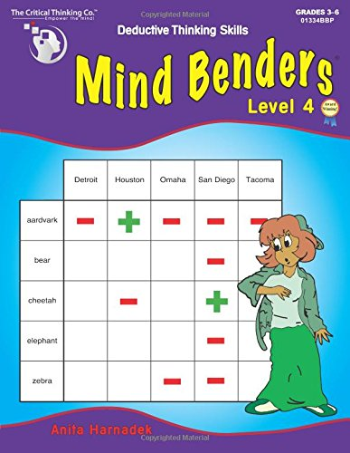 The Critical Thinking Mind Benders Book 4 School Workbook ()