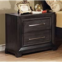 247SHOPATHOME Idf-7780N, nightstand, Dark Gray