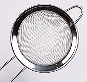 Hippo Set of 3 Fine Mesh Stainless Steel Strainers