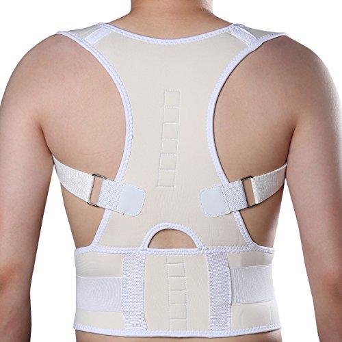 KIWI RATA Neoprene Breathable magnetic Posture Corrector bad back shoulder lumbar support belt (Magnetic Shoulder Collar)