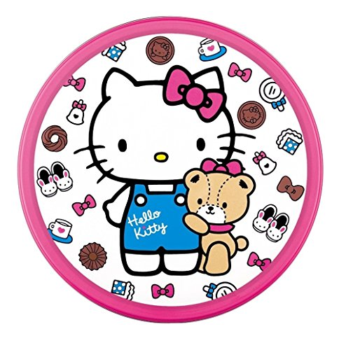 bourbon Hello Kitty Japanese Cocoa Cookie Can]()