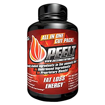 Peelt Fat Burner : Thermogenic and Thyroid Optimizer Lose Weight and Protect Muscle Mass