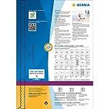 HERMA CD Case Inserts for Jewel Cases, 1 Insert Per
