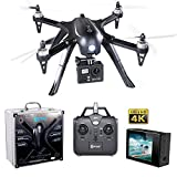 BLACK FRIDAY DEAL! Contixo F17+ RC Quadcopter Photography Drone 4K Ultra HD Camera 16MP, Brushless Motors, 1 High Capacity Battery, Supports GoPro Hero Cameras, Aluminum Hard Case