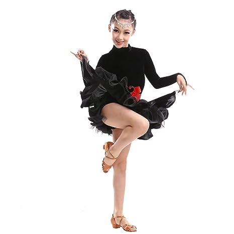 Amazon.com: MARXHOT - Disfraz de danza latina con cuello ...