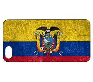 Funda Carcasa para iPhone SE Bandera ECUADOR 01