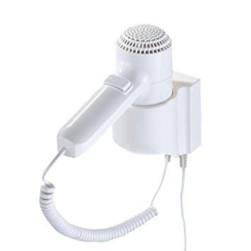 CAOYUArtículos para el hogar Secador de Pelo, Ventilador de Aire Caliente y frío portátil montado en la Pared 1200W: Amazon.es: Hogar