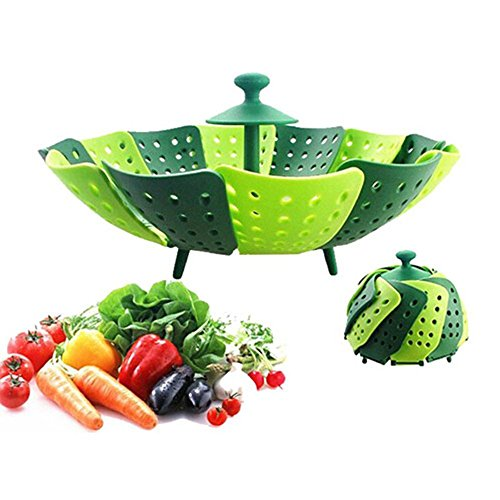 astra-gourmet-lotus-folding-non-scratch-steamer-basket-kitchen-cooking-tool-cookware-for-fruitvegeta