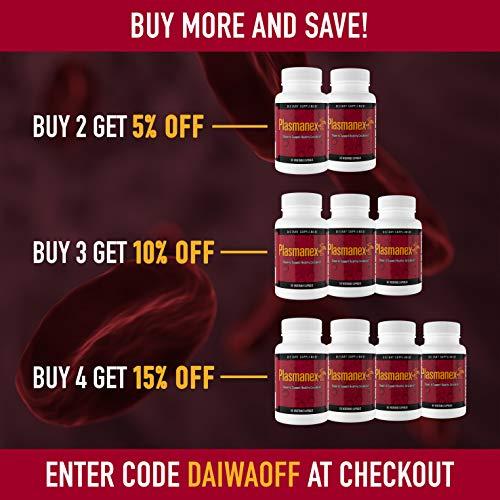 Amazon.com: Daiwa Desarrollo de la salud plasmanex1 Cápsulas ...