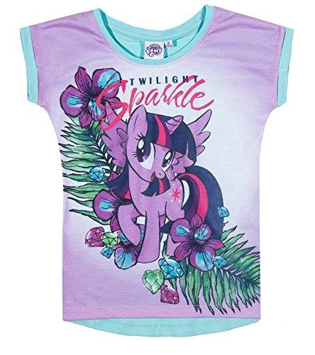 My Little Pony Girls Short Sleeve T-Shirt - White: Amazon.co.uk: Clothing