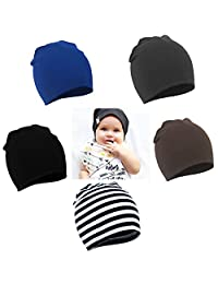 YJWAN Unisex Baby Beanie Kids Toddler Infant Cotton Soft Cute Lovely Knit Hat Cap