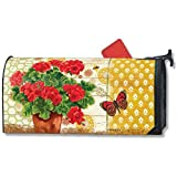 MailWraps Potted Geraniums Mailbox Covers 01487