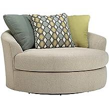 Amazon Com Cuddler Barrel Chair