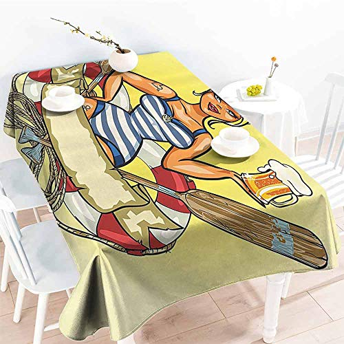 Halo Scout Costumes - FANOEWI Creative Rectangle Tablecloth Girly Decor