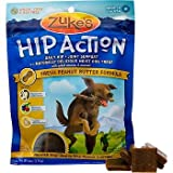 Zuke's Hip Action Hip and Joint Support Fresh Peanut Butter Dog Treats, 6 oz., My Pet Supplies