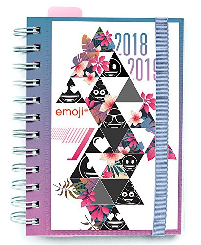 Erik ADPW1806 - Agenda escolar 2018/2019 emoji: Amazon.es ...