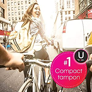 U by Kotex Click Compact Tampons, Super Absorbency, Fragrance-Free, 36 Count