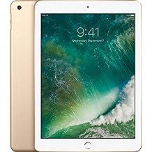 Apple iPad with WiFi, 128GB, Gold (2017 Model)
