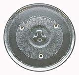 "Sunbeam Microwave Glass Turntable Plate / Tray 10 1/2"""