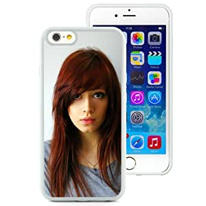 Unique Designed Cover Case For iPhone 6 4.7 Inch TPU With Gorgeous Redhead Girl Mobile Wallpaper (2) Phone Case