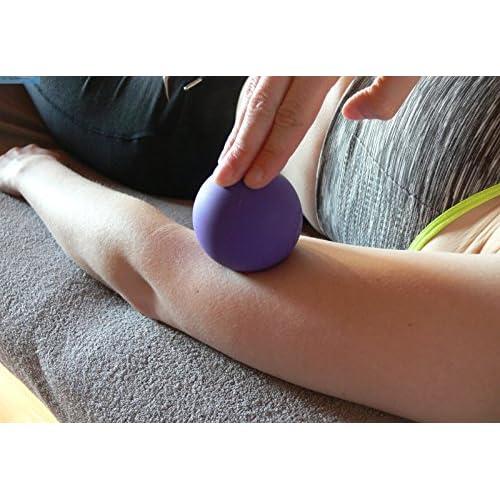 fascia, massage Ball, Lacrosse, rouleau de massage, fascias Ballon de football en violet