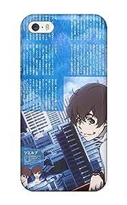 For BEsVDbm7975KmLEO Nine Terror Zankyou No Backgrounds Protective Case Cover Skin/iphone 5/5s Case Cover
