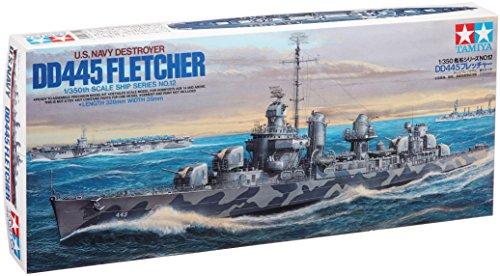(Tamiya Models Fletcher Class Destroyer)